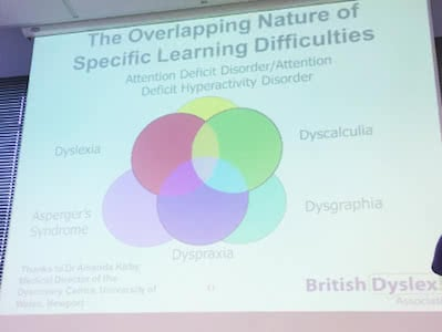 overlapping nature of specific  learning difficulties