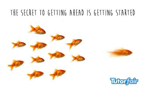 the secret to getting ahead