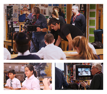 Filming in the Art Room