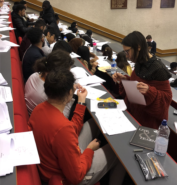 Free chemistry tutoring at UCL