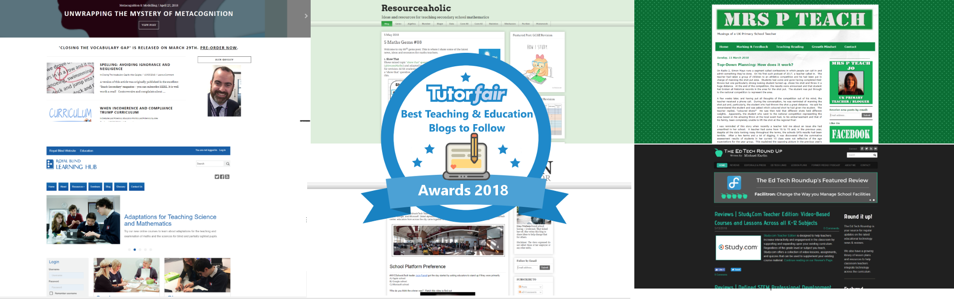 Tutors: a selection of sites