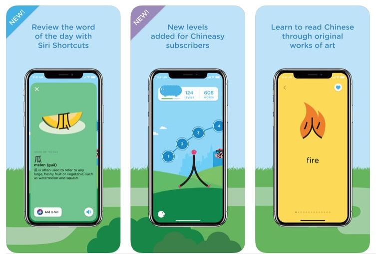 Chineasy Cards app