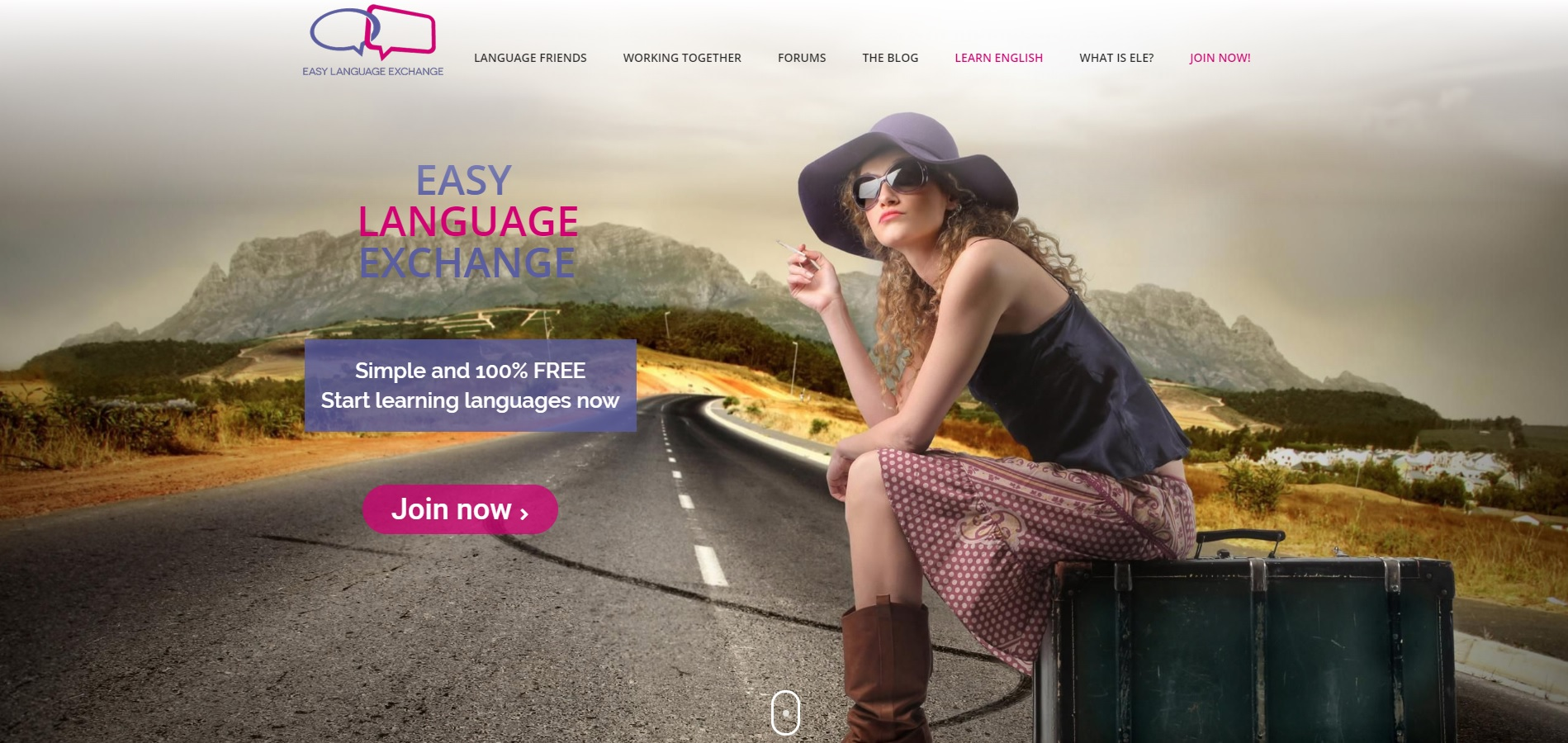 Easy Language Exchange site